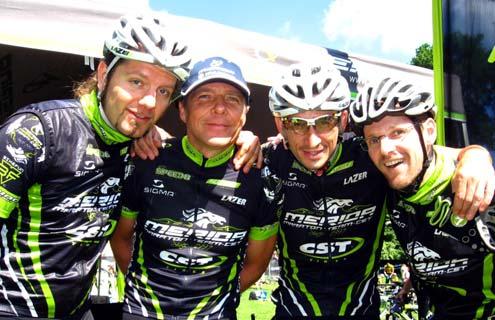 A Merida TEAM-CST - BikeMag HUN csapata