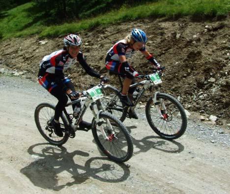 Girl power: a dán Noorgard tesók, azaz Anna-Sofie és Christin. A Cube5 kettőse a 3. helyre futott be a 4. szakaszon