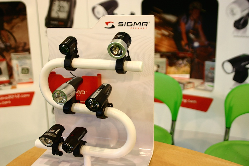 Sigma Sport lámpák