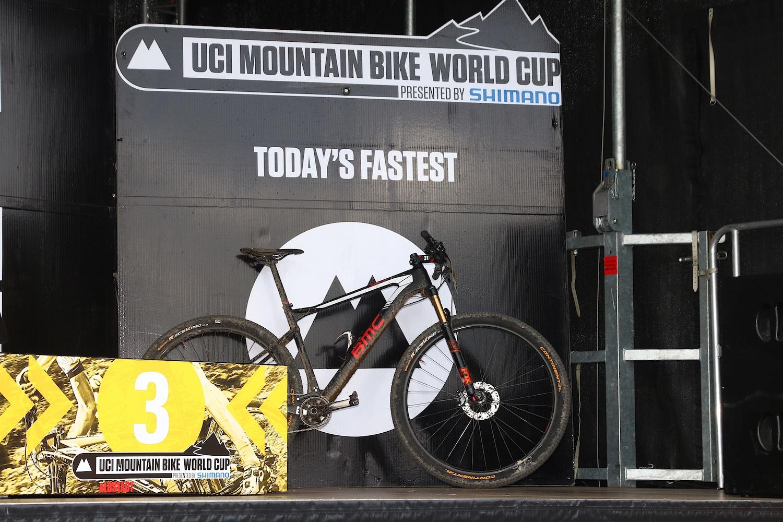 A nap leggyorsabb bringája a már általunk is néhány napja bemutatott BMC Teamelite 01