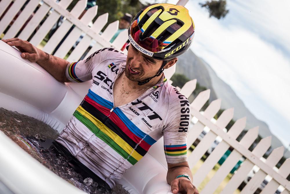 Így regenerálódik egy világ és olimpiai bajnok a hőségben