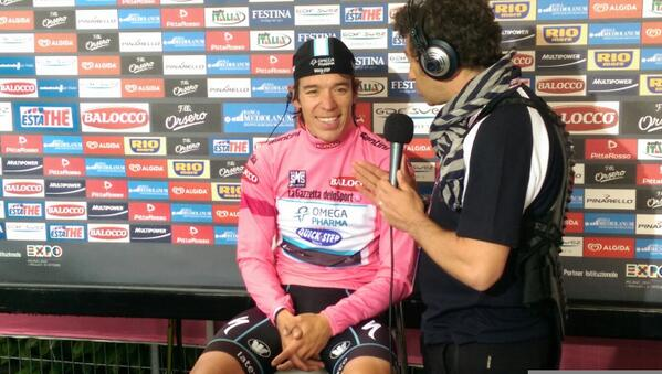 Uran rózsaszínben (Fotó: Giro d'Italia - RCS)