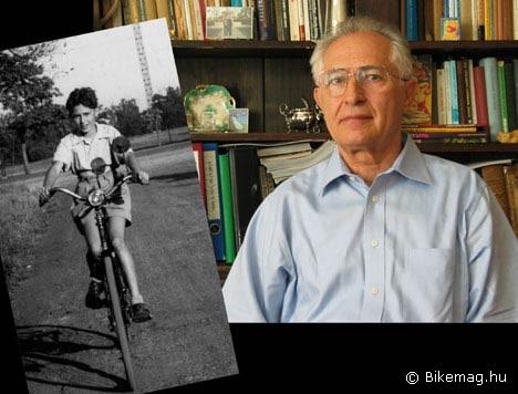 Interjúalanyunk már gyermekkorában beleszeretett a régi kerékpárokba