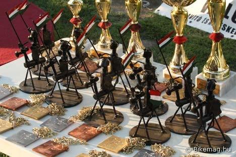 """A csavarokból, anyákból és egyéb fém alkatrészekből összehegesztett vaslovag idén is pályázhat a """"hazai versenyek legötletesebb trófeája"""" címre"""