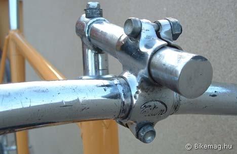 Pályakerékpár részlete a negyvenes évekből - építette Muszelin András