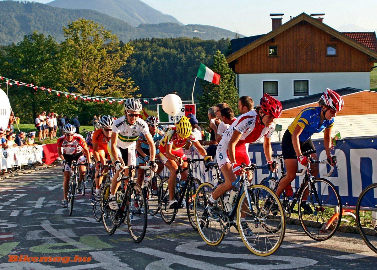 Országúti világbajnokság Ausztriában, még 2008-ban Salzburgban (Fotó: Takács Tamás)