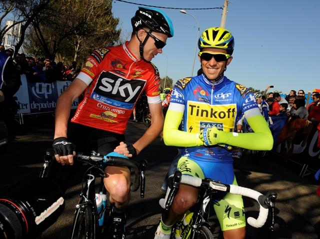 Froome és Contador
