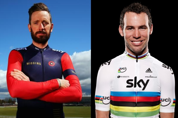 Bradley Wiggins és Mark Cavendish