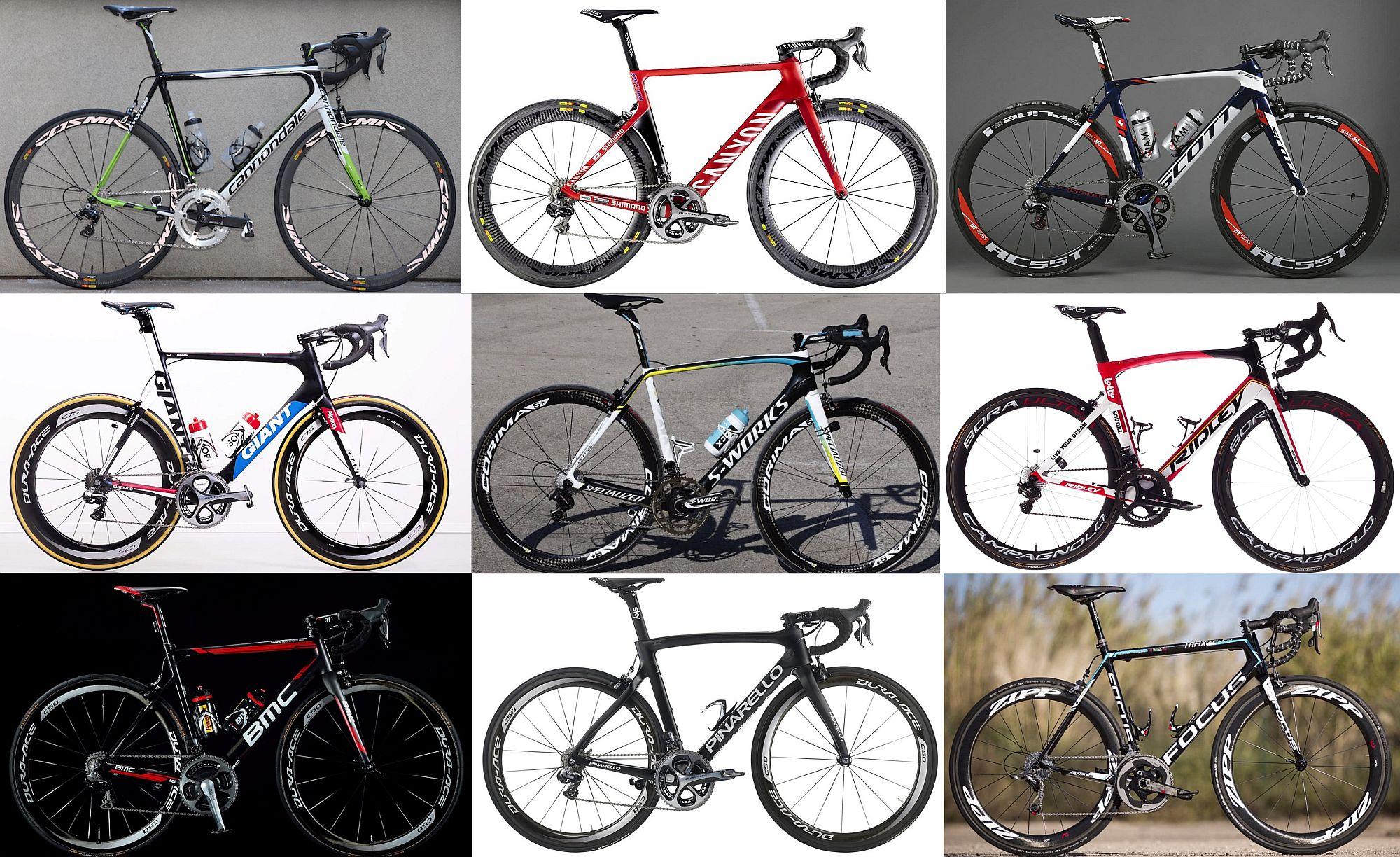 A kerékpárok, melyek között mindenkinek van egy kedvence