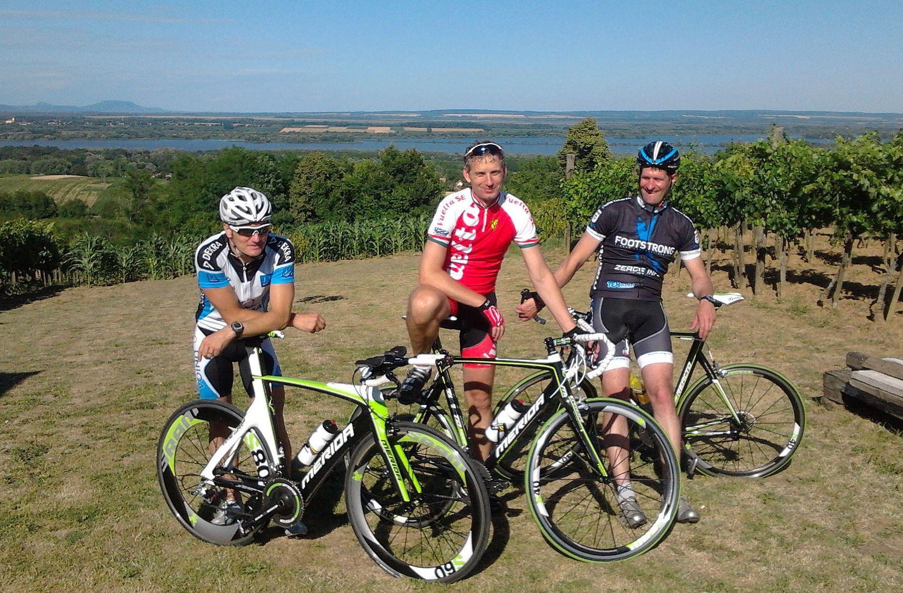 Olimpikonok a zalai szőlődombok között, Eisenkrammer Károly és Vinczeffy Zsolt a Dráva Touron is ott lesz