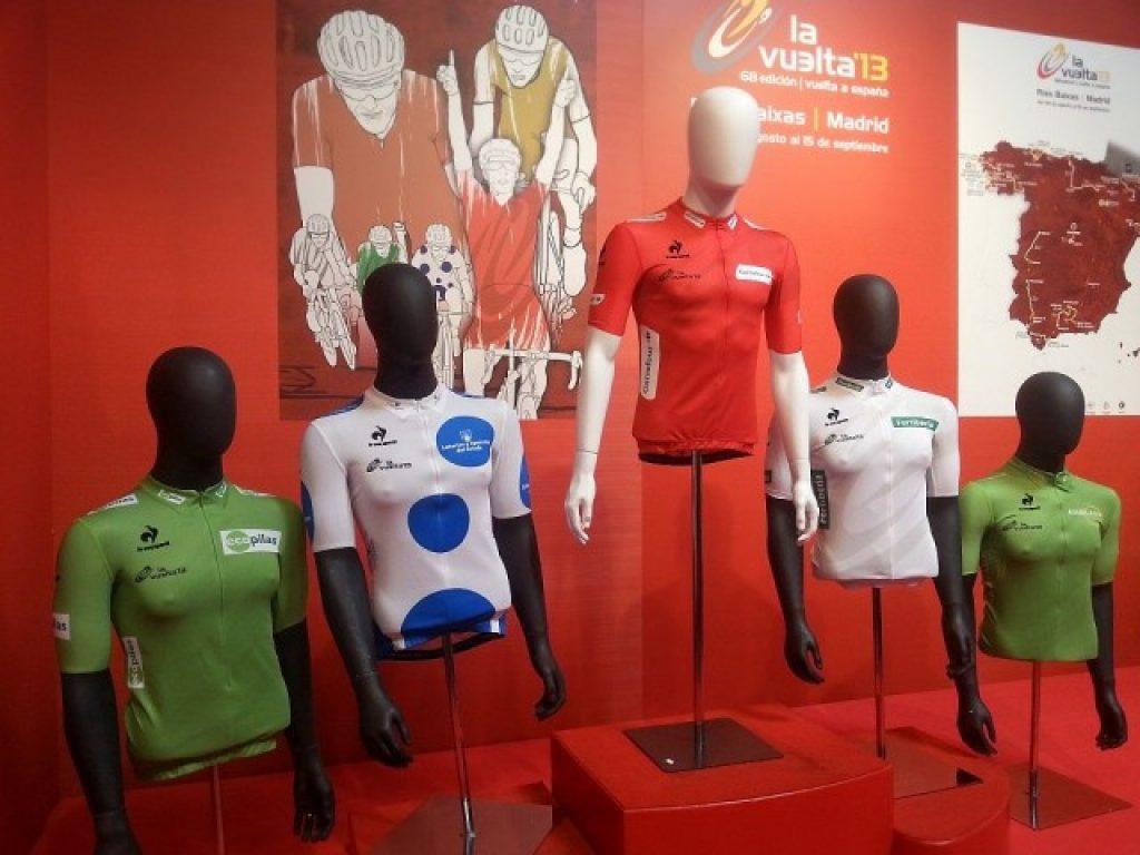 A 2013. évi Vuelta megkülönböztetett trikói