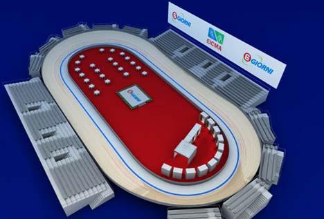 A 2008-as hatnapos versenyre tervezett pálya
