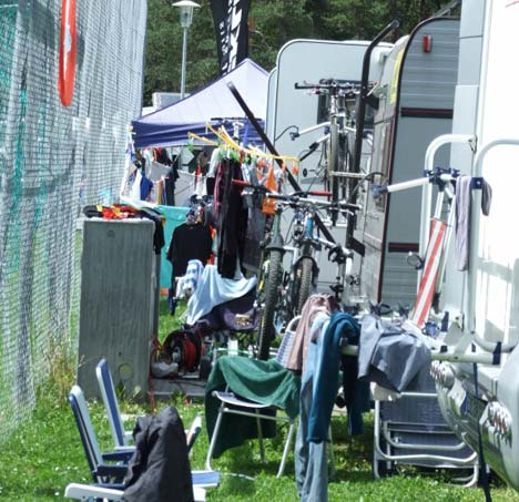 Transalp 2008 - tábori csendélet