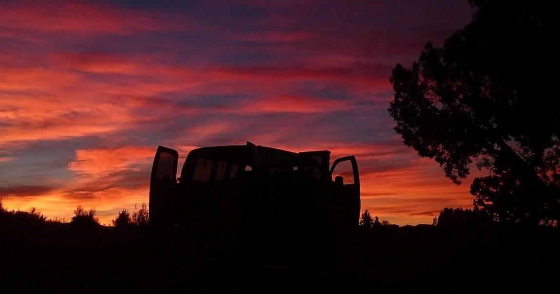 A kocsi hűtése napnyugta után